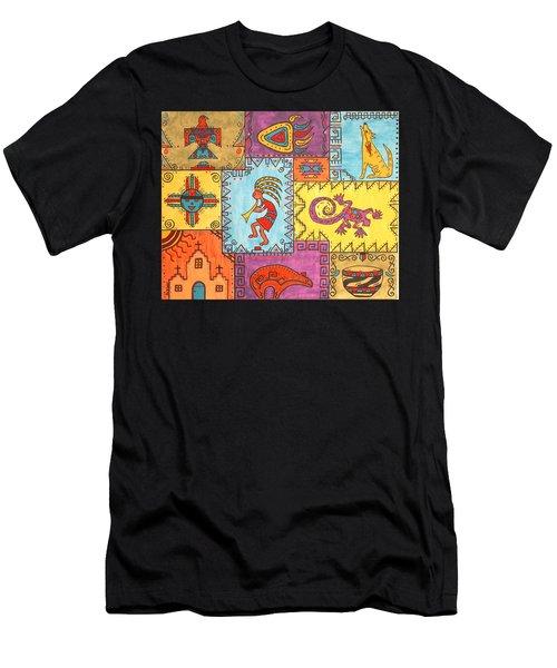 Southwest Sampler Men's T-Shirt (Slim Fit) by Susie WEBER