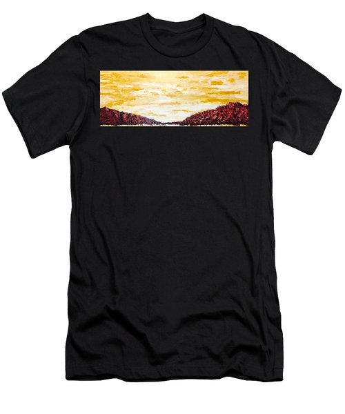 Southwestern Mountain Range Men's T-Shirt (Athletic Fit)