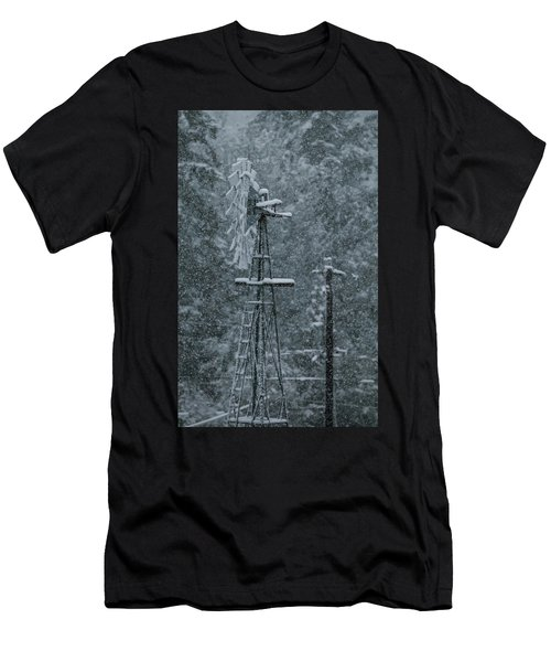 Southworth Windmill Snow Bound Men's T-Shirt (Athletic Fit)
