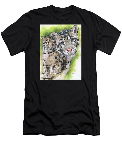 Men's T-Shirt (Athletic Fit) featuring the mixed media Sovereignty by Barbara Keith