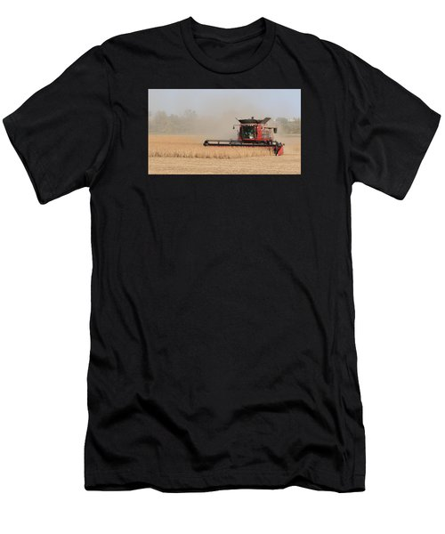 Soybean Harvest In Fremont County Iowa Men's T-Shirt (Athletic Fit)