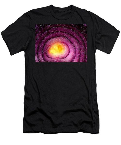 Space Allium Men's T-Shirt (Athletic Fit)