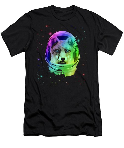Space Fox Men's T-Shirt (Athletic Fit)