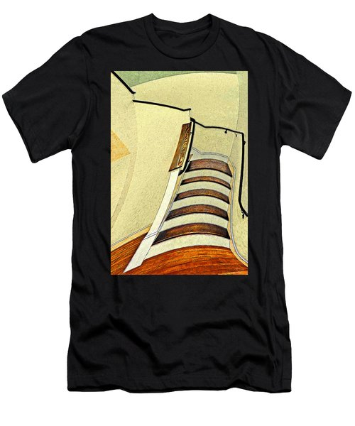 Space Geometry #1 Men's T-Shirt (Athletic Fit)