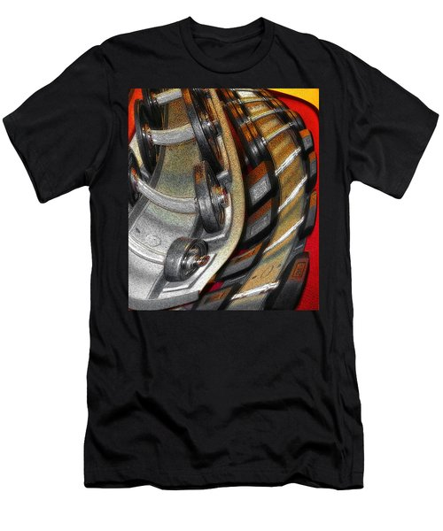 Space Geometry #3 Men's T-Shirt (Athletic Fit)