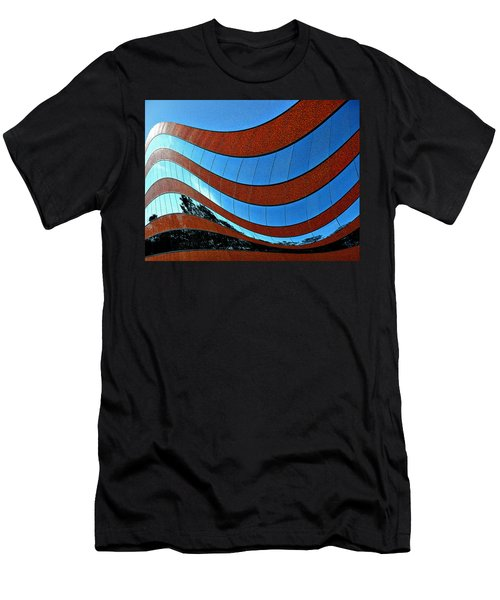 Space Geometry #8 Men's T-Shirt (Athletic Fit)