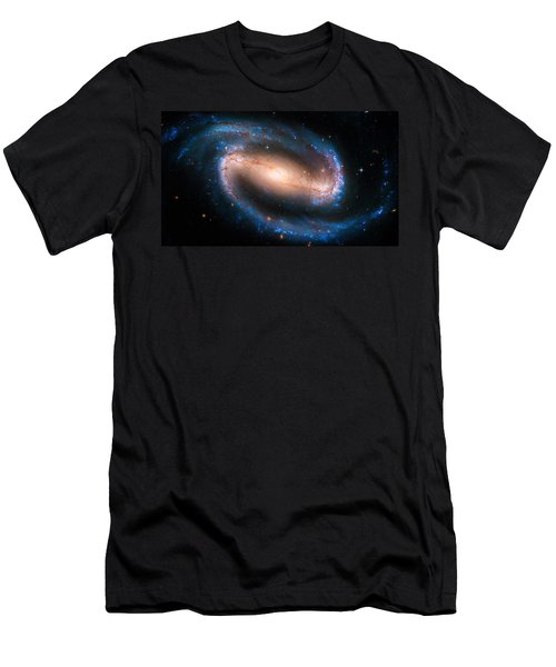 Space Image Barred Spiral Galaxy Ngc 1300 Men's T-Shirt (Athletic Fit)