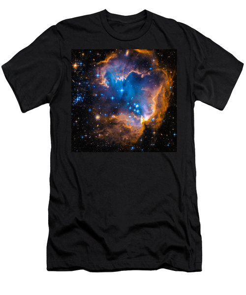 Space Image - New Stars And Nebula Men's T-Shirt (Athletic Fit)