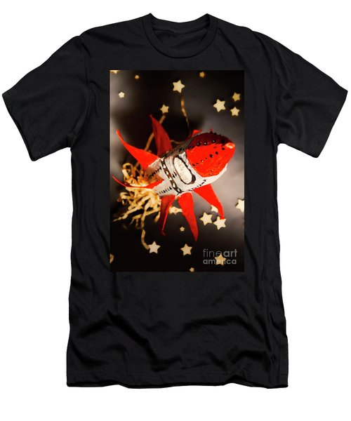 Space Launch To Seek And Discover Men's T-Shirt (Athletic Fit)