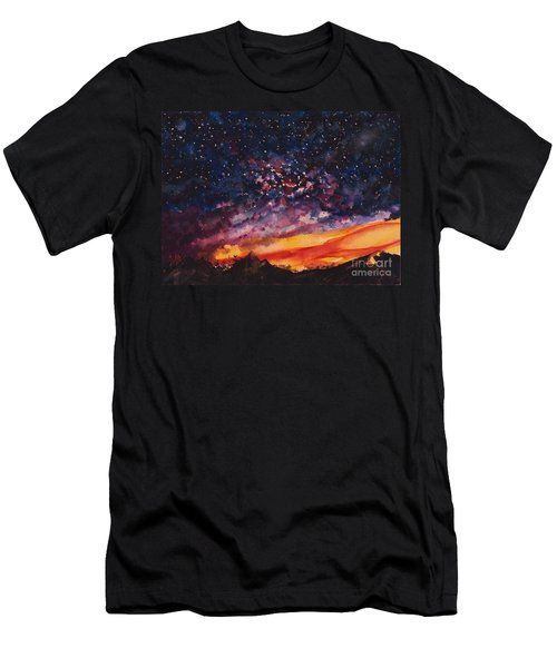 Space Oddity  Men's T-Shirt (Athletic Fit)