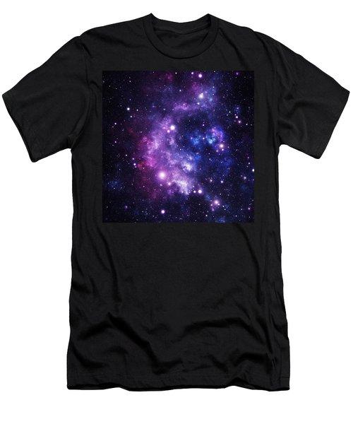 Space Race Men's T-Shirt (Athletic Fit)