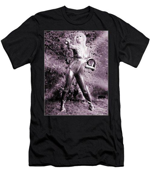 Space Vixon Men's T-Shirt (Athletic Fit)