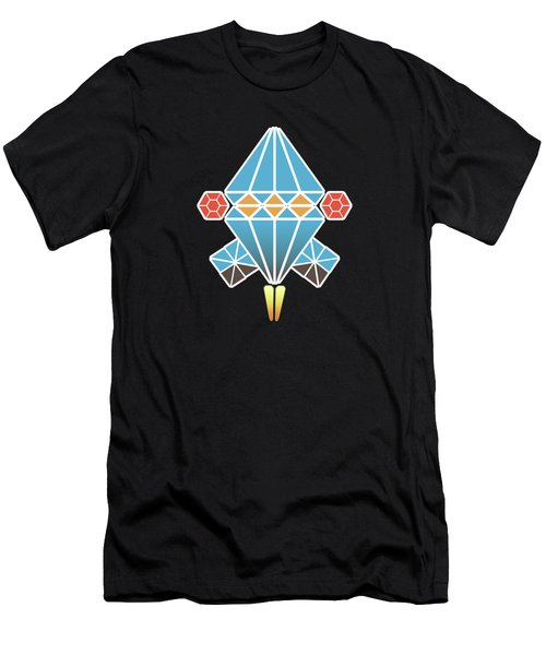 Spacecraft Men's T-Shirt (Athletic Fit)