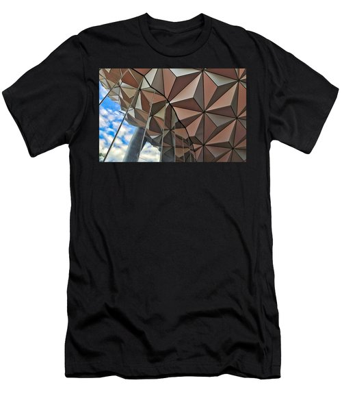 Spaceship Earth And Sky Men's T-Shirt (Athletic Fit)