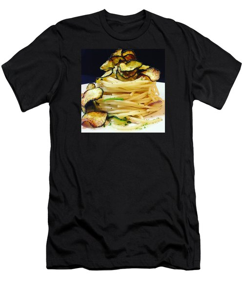 Spaghetti With Zucchini Men's T-Shirt (Athletic Fit)