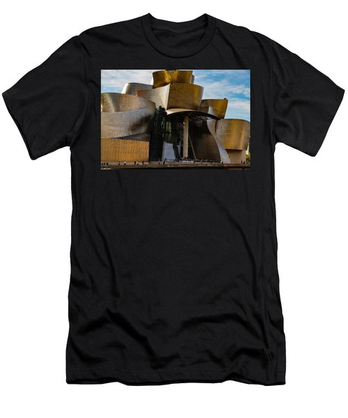 The Guggenheim Museum Spain Bilbao  Men's T-Shirt (Athletic Fit)
