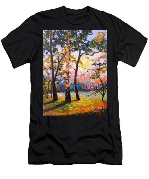 Spanaway Pond Men's T-Shirt (Athletic Fit)