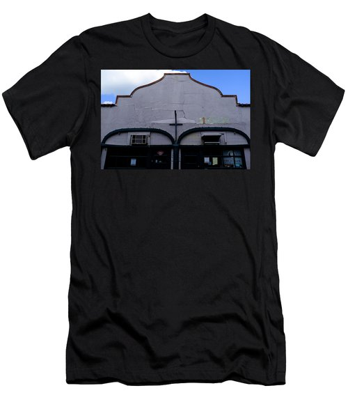 Spanish Architecture Photo In Saint Augustine Florida Men's T-Shirt (Athletic Fit)