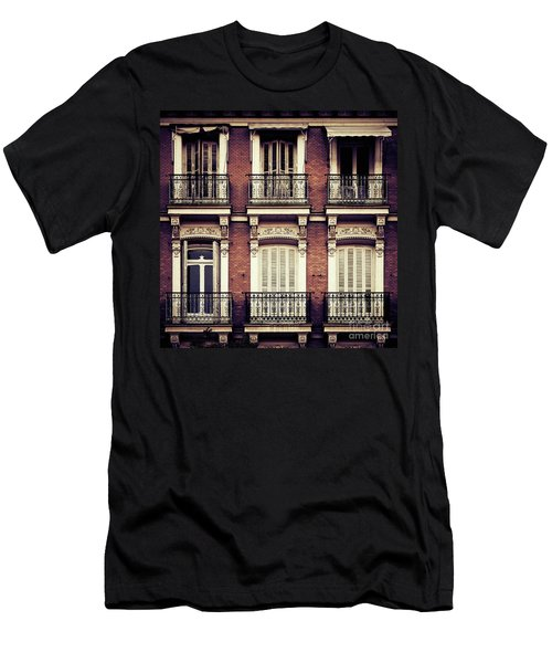 Spanish Balconies Men's T-Shirt (Athletic Fit)