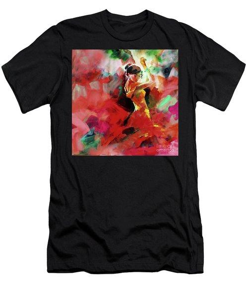 Spanish Dance Men's T-Shirt (Athletic Fit)