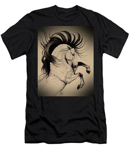 Spanish Horses Men's T-Shirt (Athletic Fit)