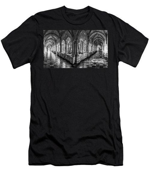 Spanish Monastery Men's T-Shirt (Athletic Fit)