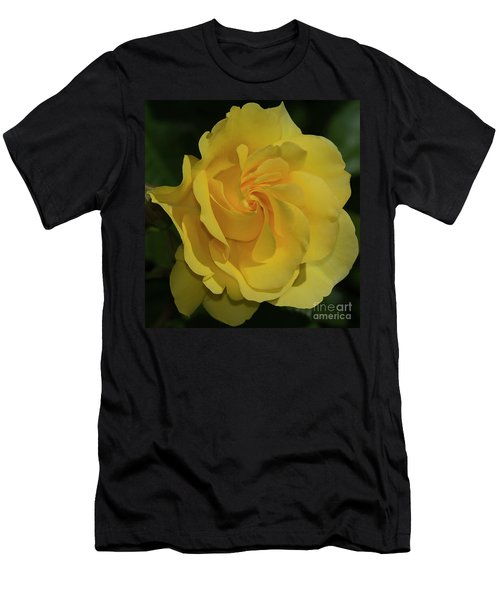 Sparkle And Shine Rose Men's T-Shirt (Athletic Fit)