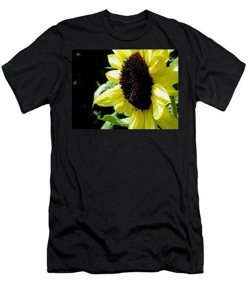 Sparkle Sunflower Men's T-Shirt (Athletic Fit)