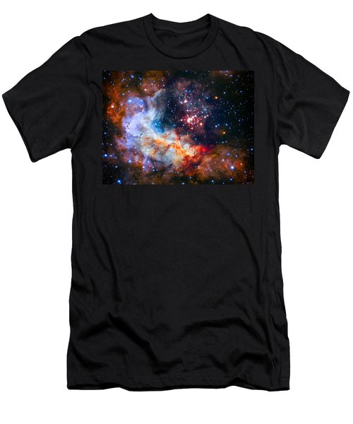 Sparkling Star Cluster Westerlund 2 Men's T-Shirt (Athletic Fit)