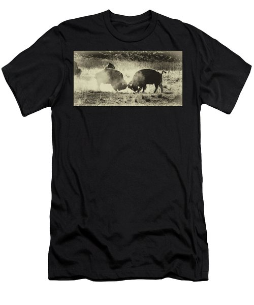Sparring Partners - American Bison Men's T-Shirt (Athletic Fit)