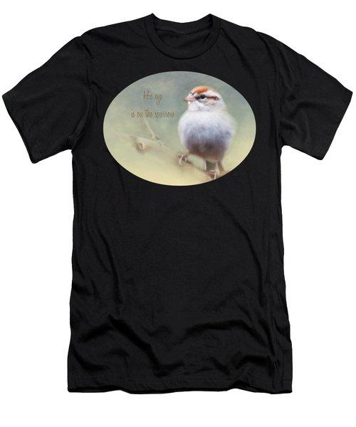 Serendipitous Sparrow - Phrase Men's T-Shirt (Athletic Fit)