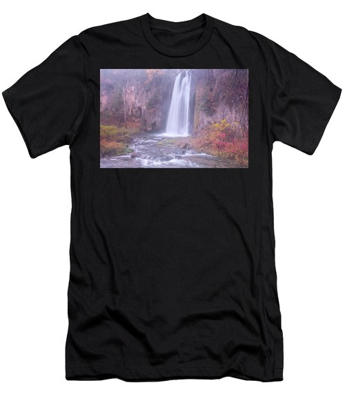 Spearfish Falls Men's T-Shirt (Athletic Fit)