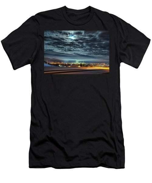 Spearfish Under The Moon Men's T-Shirt (Athletic Fit)