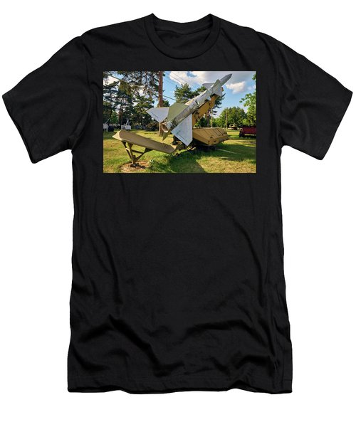 Men's T-Shirt (Athletic Fit) featuring the photograph Special Delivery by Tgchan