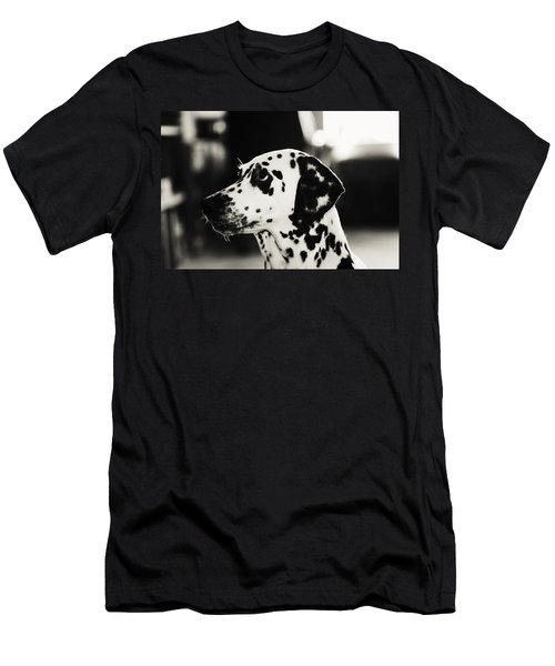 Men's T-Shirt (Athletic Fit) featuring the photograph Special Glance For You by Jenny Rainbow