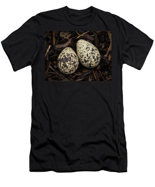 Speckled Killdeer Eggs By Jean Noren Men's T-Shirt (Athletic Fit)