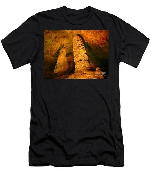 Spectacular Cave Interior Men's T-Shirt (Athletic Fit)