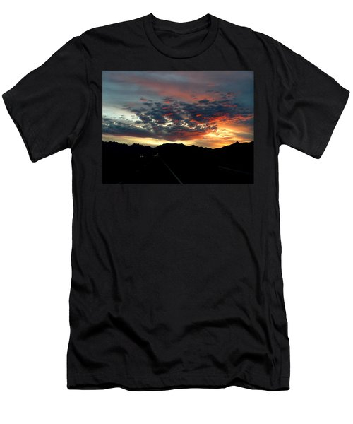 Spectacular Sky Men's T-Shirt (Athletic Fit)