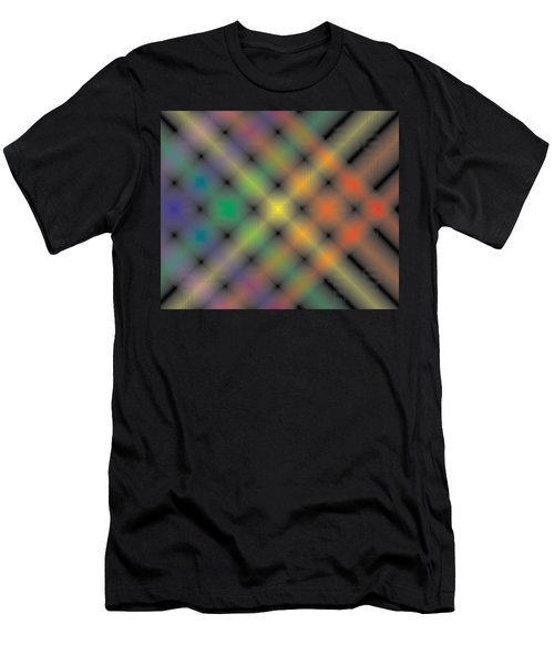 Spectral Shimmer Weave Men's T-Shirt (Athletic Fit)