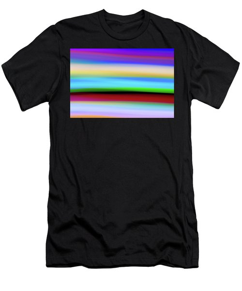 Speed Of Lights Men's T-Shirt (Athletic Fit)