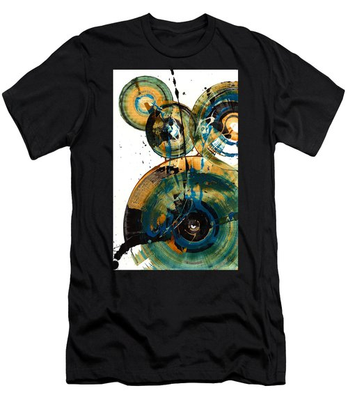 Spherical Joy Series 46.040511 Men's T-Shirt (Slim Fit) by Kris Haas