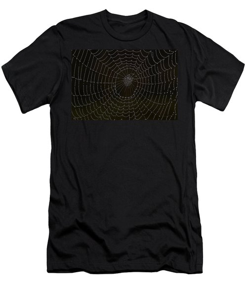 Spider Cobweb  Men's T-Shirt (Athletic Fit)