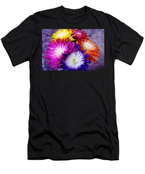 Spider Mums Men's T-Shirt (Athletic Fit)