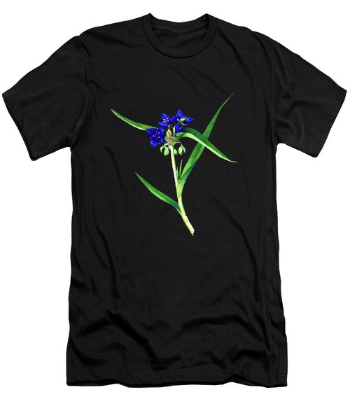 Spider Wort Men's T-Shirt (Athletic Fit)