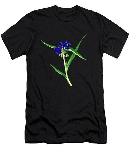 Spider Wort Men's T-Shirt (Athletic Fit)