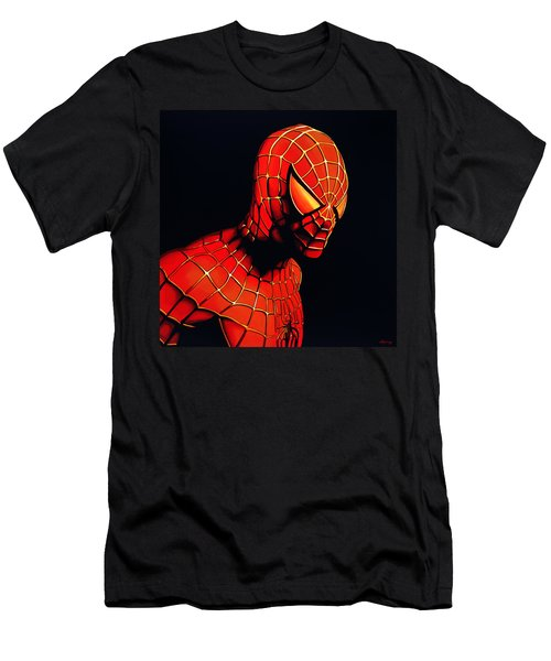 Spiderman Men's T-Shirt (Athletic Fit)