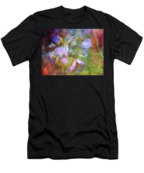 Spiderwort 1398 Idp_2 Men's T-Shirt (Athletic Fit)