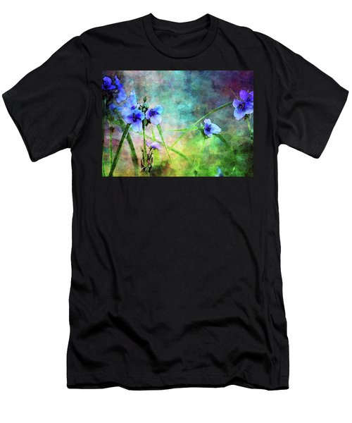 Spiderwort Dance 0115 Idp_2 Men's T-Shirt (Athletic Fit)