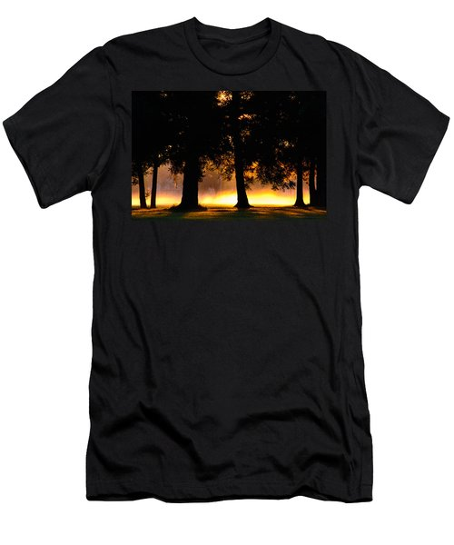 Men's T-Shirt (Athletic Fit) featuring the photograph Spilled Suinshine by Tikvah's Hope