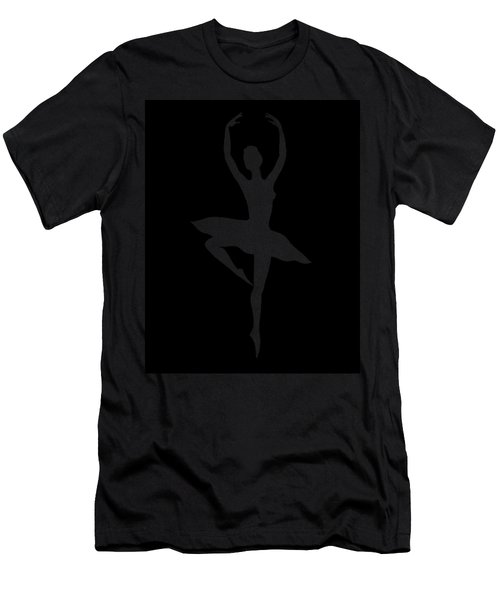 Spin Of Ballerina Silhouette Men's T-Shirt (Athletic Fit)